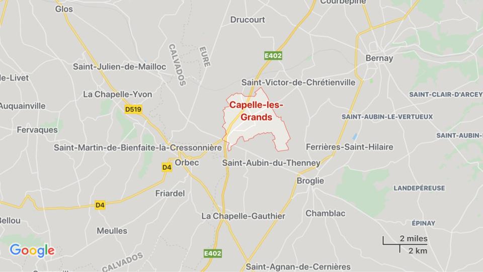 Eure : un 44 tonnes chargé de yaourts se couche sur l'A28 et s'enflamme entre Rouen et Alençon