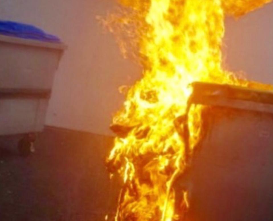 Plusieurs conteneurs poubelles ont brûlé ces dernières semaines - illustration