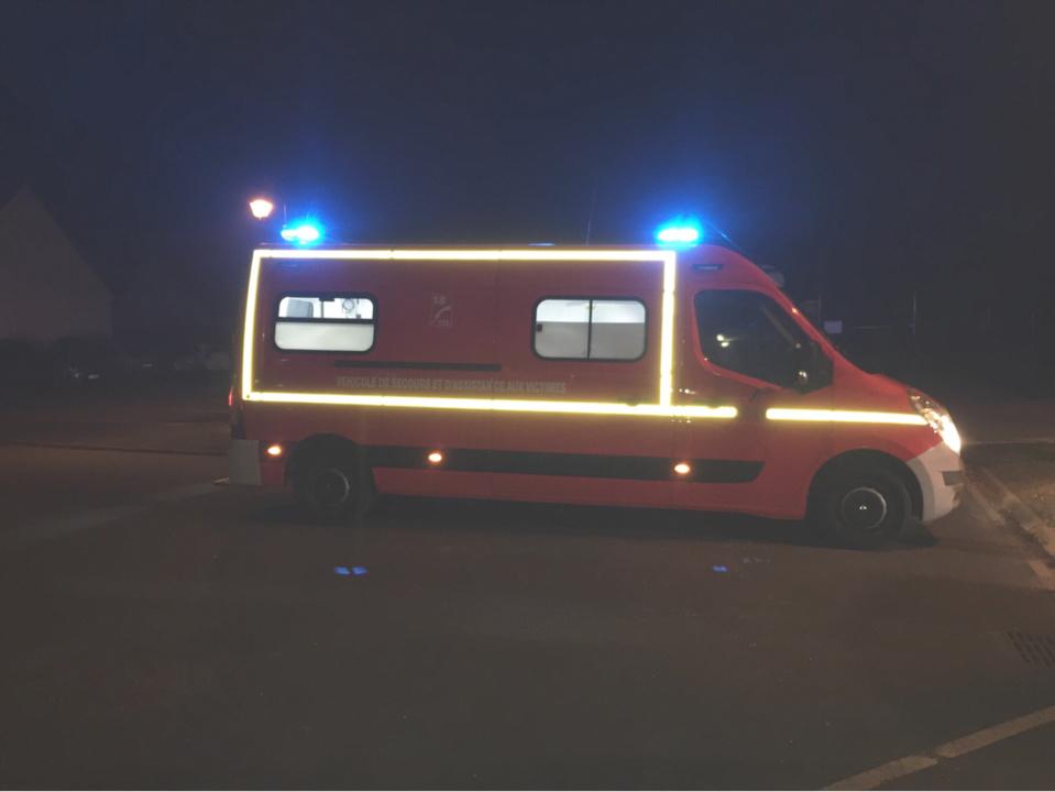 La victime a été désincarcérée par les sapeurs-pompiers et transportée au CHU de Rouen - illustration @ Infonormandie
