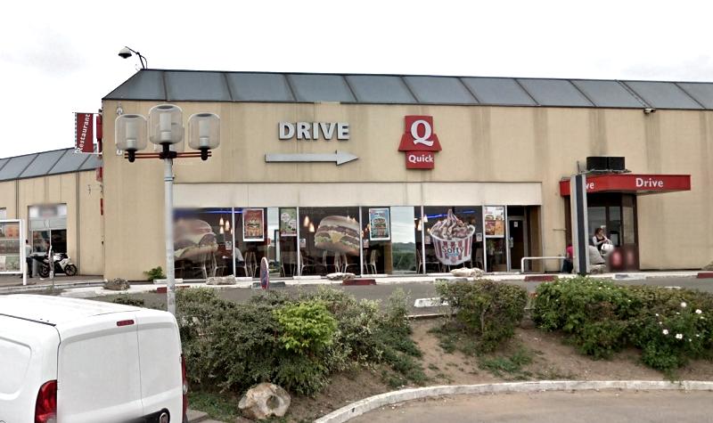 Les voleurs sont entrés en fracturant une porte d'entrée - Illustration © Googgle Maps
