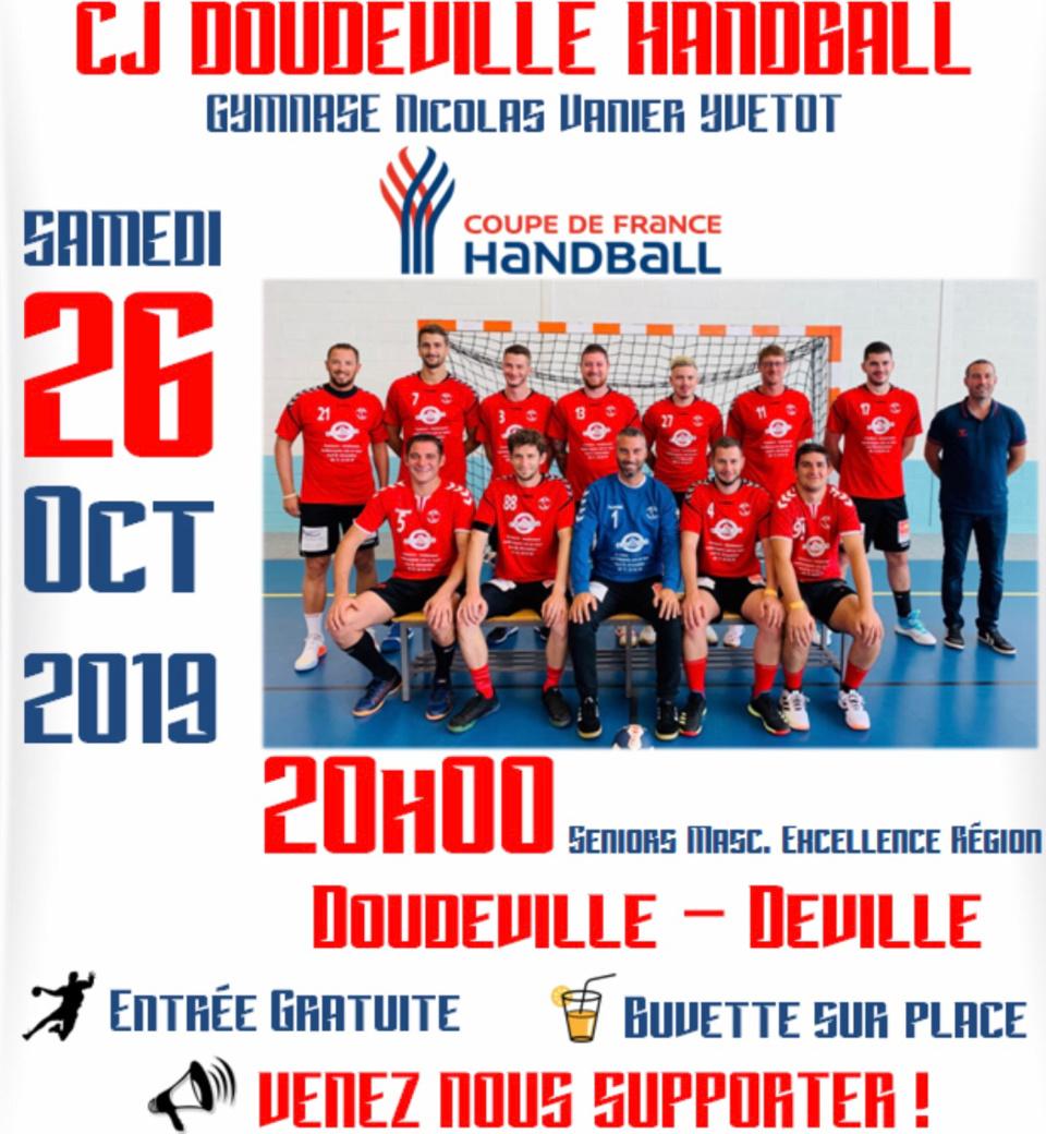 Hand-ball. Deux belles affiches en coupe de France ce week-end à Yvetot (Seine-Maritime)