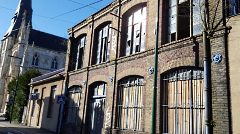 La friche est située dans le centre-ville - Illustration © Ville de Caudebec-lès-Elbeuf