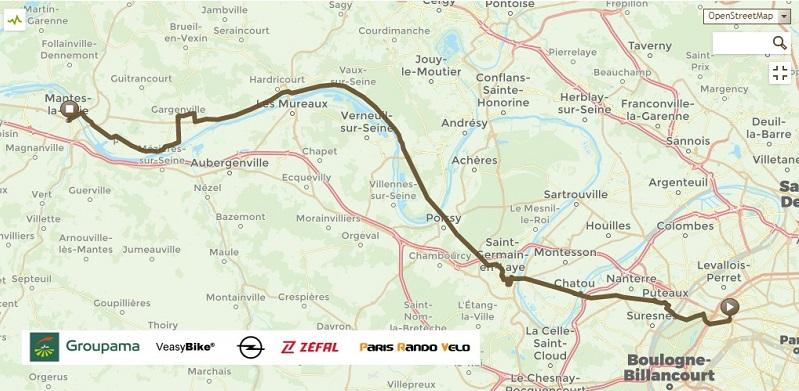 Le Paris - Rouen à vélocipède fera étape à Mantes-la-Jolie et aux Andelys