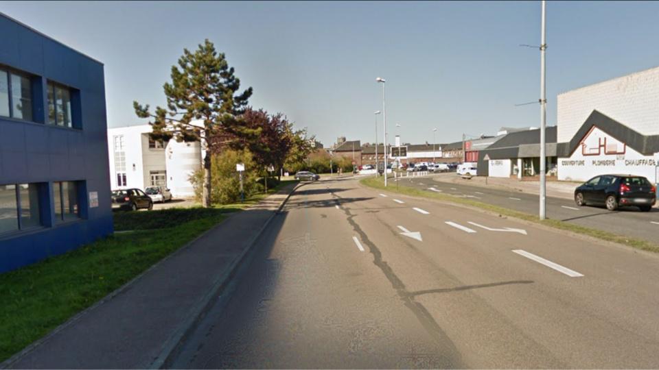 Le véhicule circulait sur l'avenue Normandie Sussex au moment des faits - illustration