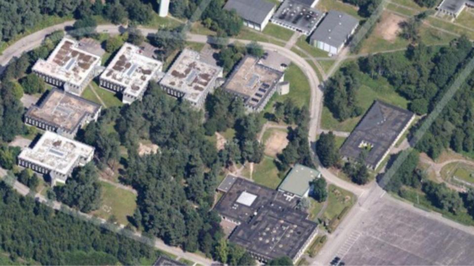 L'école nationale de police de Oissel s'étend sur 66 hectares et abrite, entre autres, le centre de rétention administratif (CRA)  - Illustration © ENP