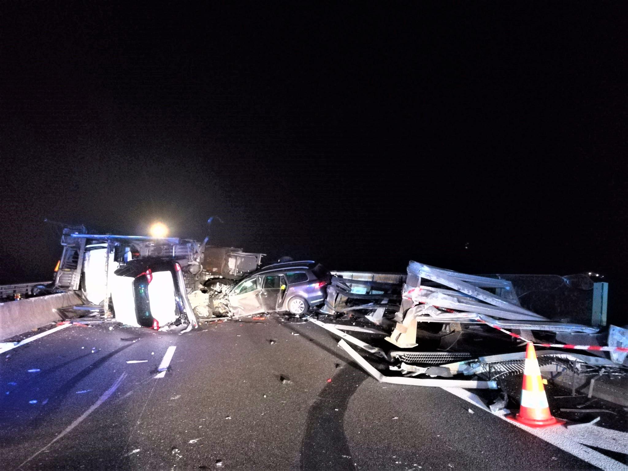 Plusieurs véhicules sont en cause - Photo © Sanef/Twitter