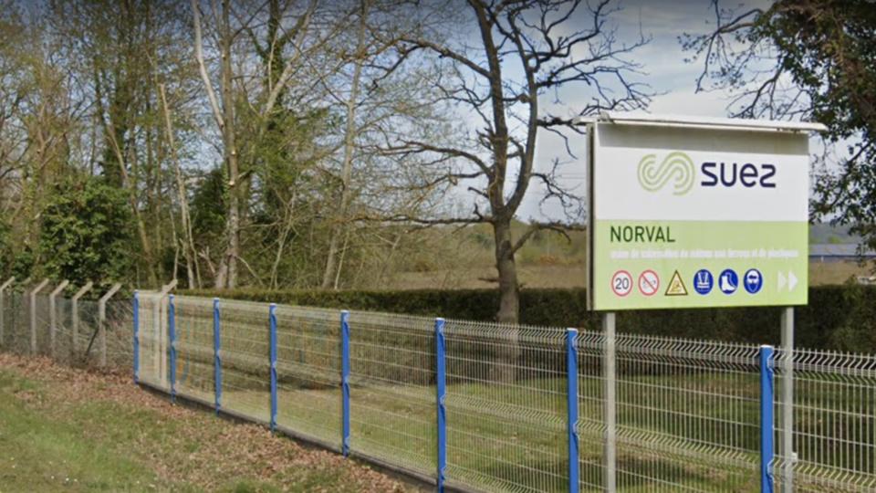 Le chien a été géolocalisé sur le site de l'entreprise Norval - illustration