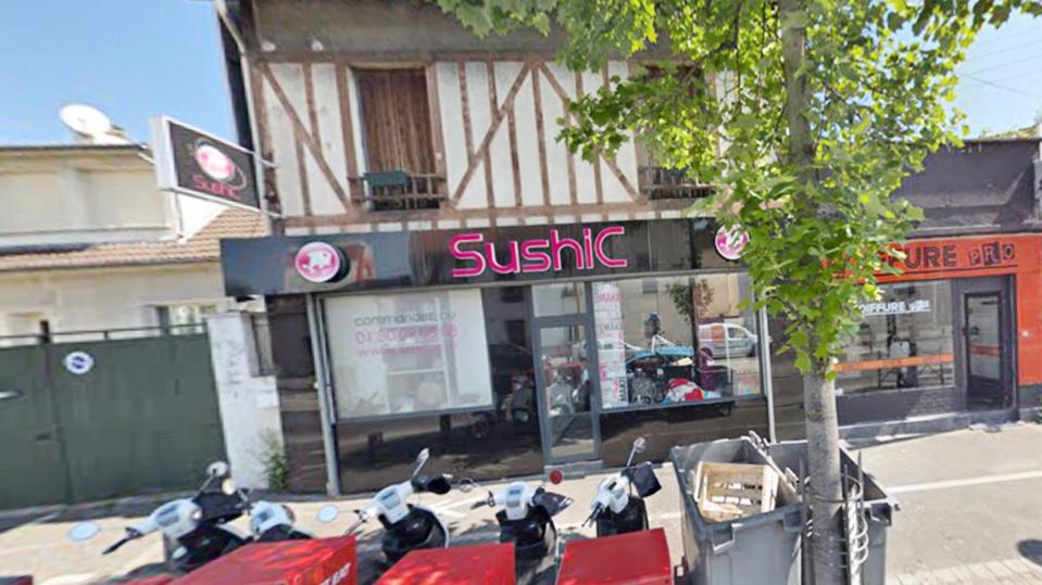 Le petit immeuble où est situé le restaurant a été partiellement soufflé par l'explosion - Photo d'illustration © Google Maps