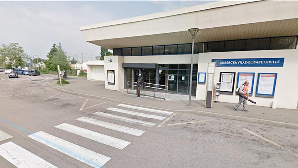 Gare d'Aubergenville - illustration