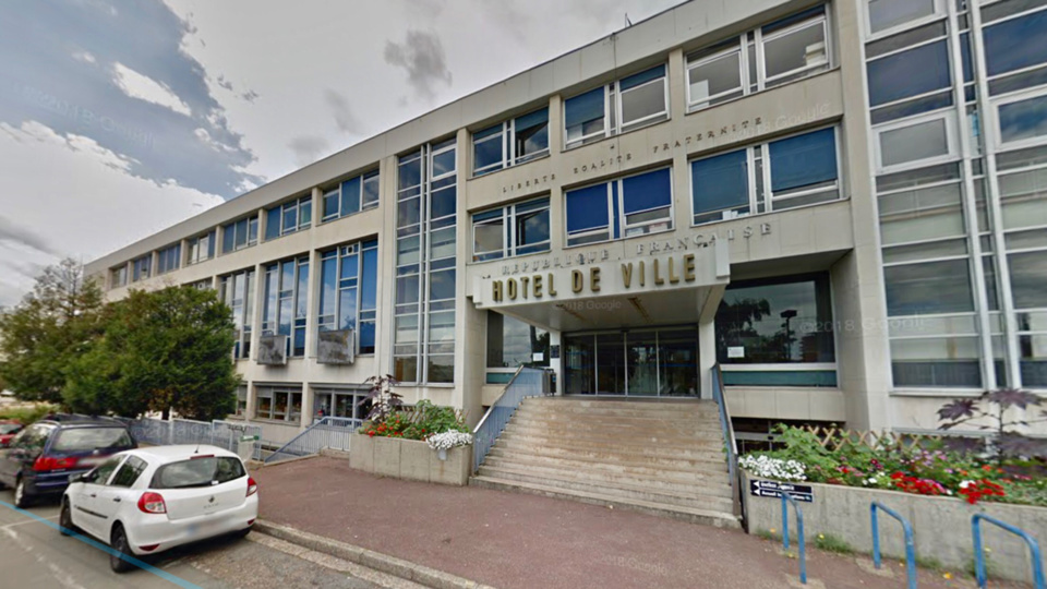 La mairie de Sotteville-lès-Rouen - illustration