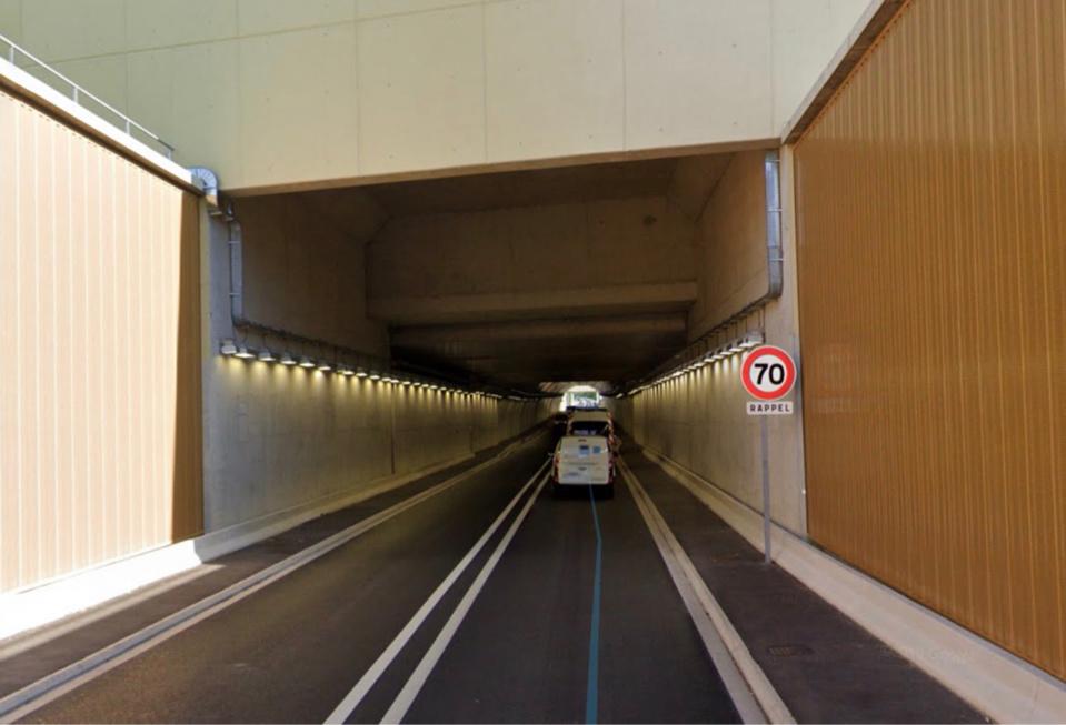 Le tunnel a été fermé pour assurer la sécurité des secours