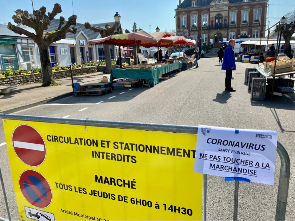 Pacy-sur-Eure : le marché hebdomadaire du jeudi est désormais interdit  - Photo © infoNormandie