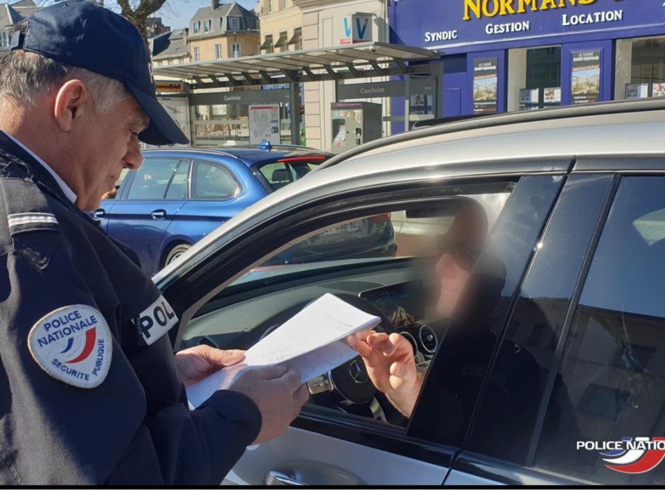 En Seine-Maritime comme ailleurs, les forces de l'ordre veillent au respect des mesures de confinement - illustration @ DDSP76