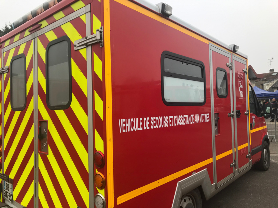 Les sapeurs-pompiers intervenaient pour une personne blessée sur la voie publique - illustration @ infoNormandie