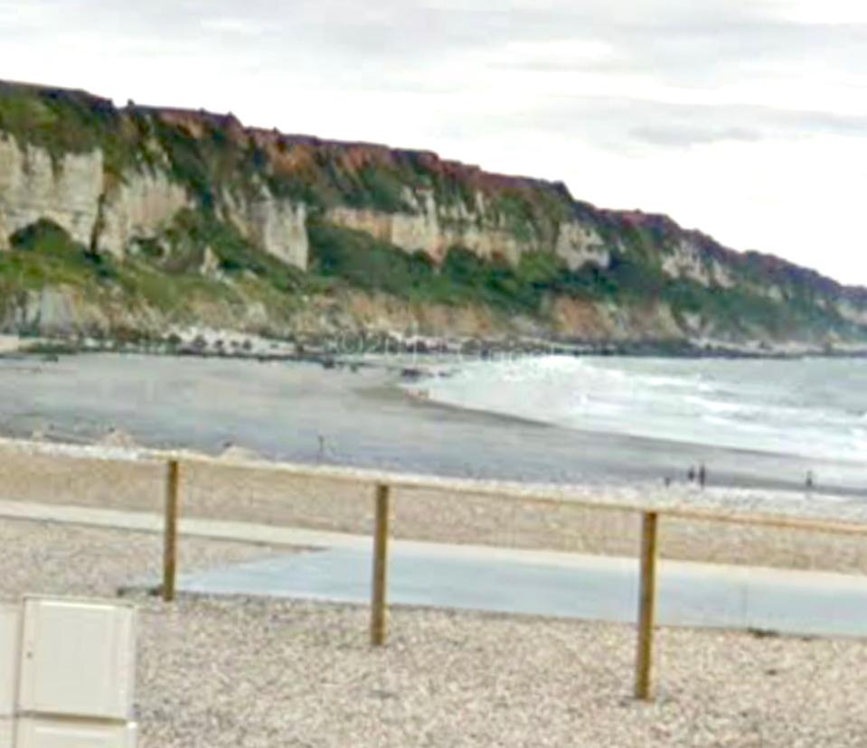 Les falaises de Saint-Jouin-Bruneval.