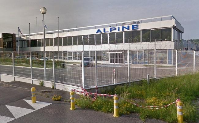 L'usine Alpine, à Dieppe - Illustration ©Google Maps