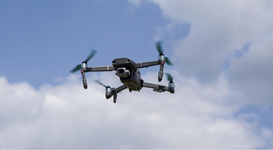 Le drone est resté 5 minutes en vol stationnaire - Illustration @ Pixabay