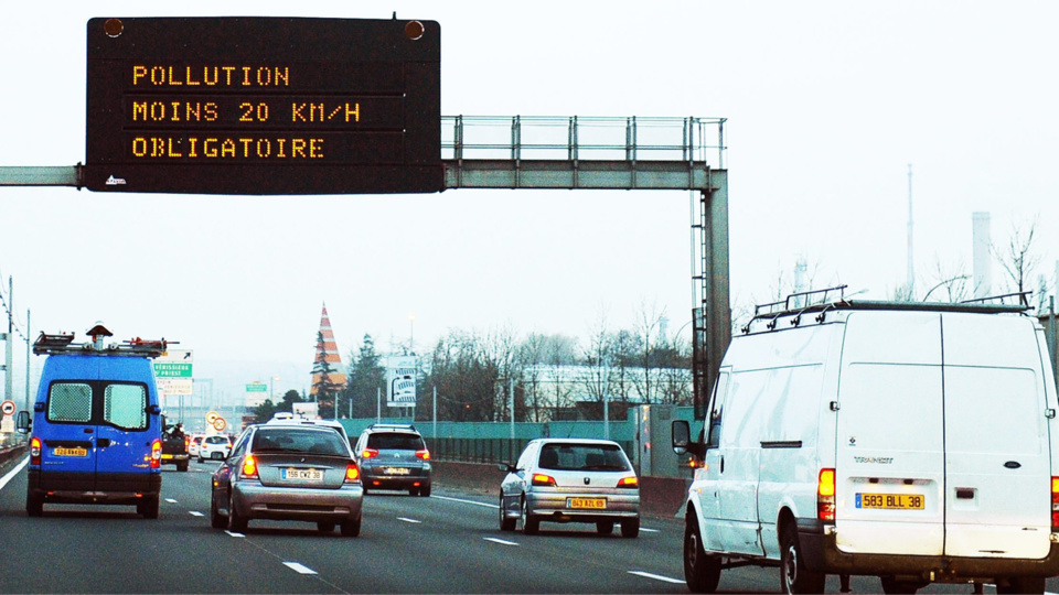La vitesse est réduite de 20 km/h sur la plupart des routes - Illustration