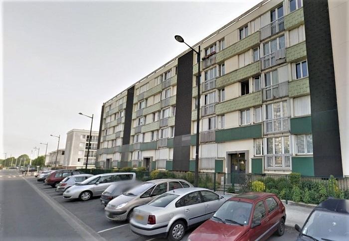 La rue Vladimir Kamarov, à Caucriauville