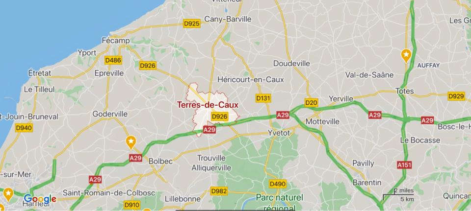 Seine-Maritime : un jeune conducteur héliporté en urgence absolue après un accident