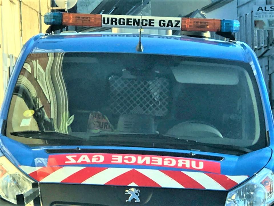 Leds agents de GrDF ont colmaté la fuite - Illustration © infoNormandie