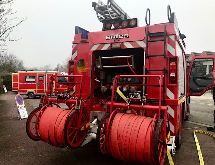 24 sapeurs-pompiers et 10 engins ont été engagés -  Illustration