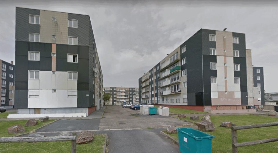 La résidence où s'est déroulé le drame, rue des Hêtres dans le quartier Sainte-Cécile