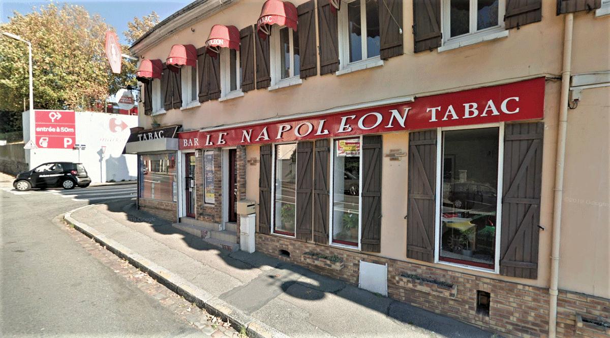 Le Napoléon est situé à l'angle des rues Clément Marical et du Docteur de Boissière, dans le quartier de Sanvi - Illustration © Google Maps