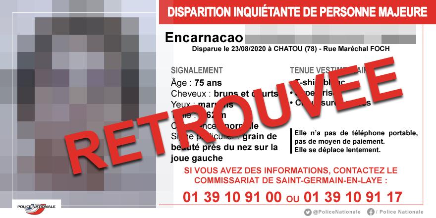 Disparition inquiétante dans les Yvelines : la police lance un appel à témoin