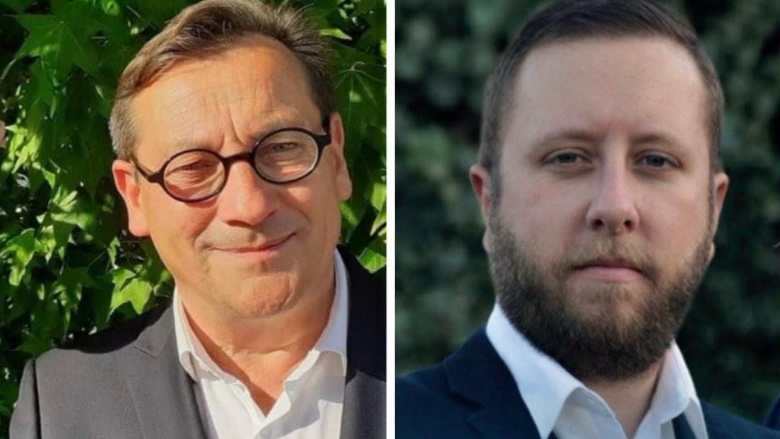 Gérard Leseul (PS) totalise 39,94 % des suffrages exprimés au 1er tour. Jean-Cyril Montier (photo de droite), pour le RN, obtient 18,01% des voix. Les deux candidats s'affronteront dimanche 27 septembre au deuxième tour