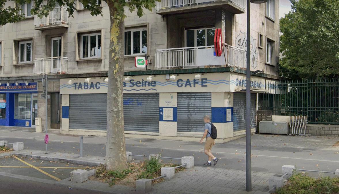 Rouen : armé et masqué, le braqueur solitaire dérobe la recette du bar-tabac de la Seine