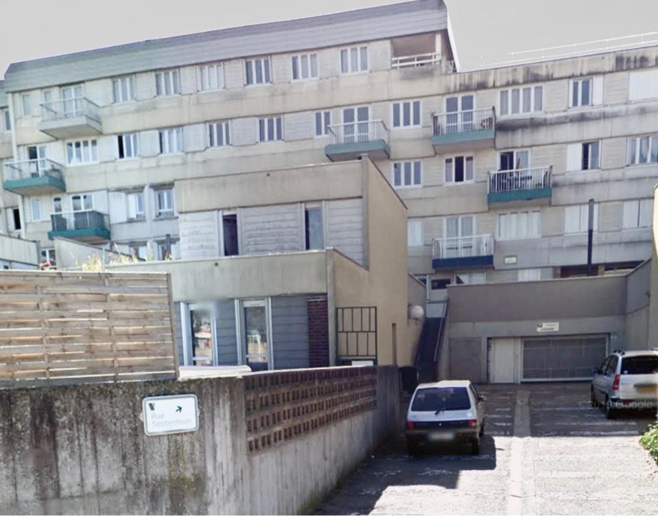 C'est au pied des immeubles de la rue Septentrion que le quinquagénaire a été roué de coups dimanche matin - Illustration © Google Maps