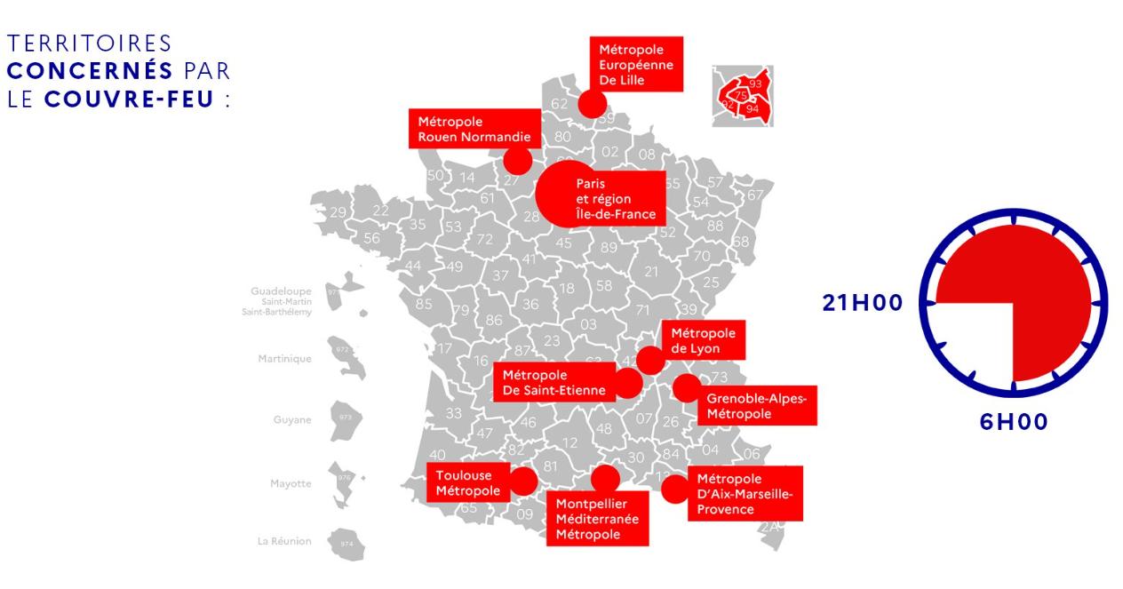 Covid-19. Un couvre-feu instauré dès samedi dans la métropole de Rouen