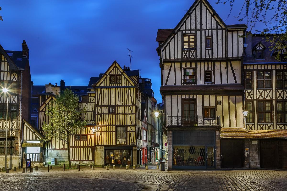 Les rues du centre-ville de Rouen devraient ressembler à cela pendant quatre semaines - Photo © iStock