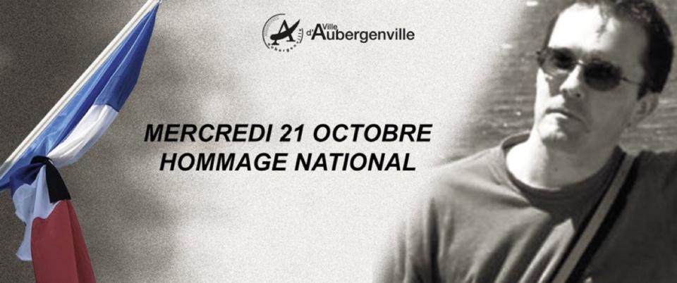 Hommage à Samuel Paty : drapeaux en berne ce mercredi à Aubergenville (Yvelines)