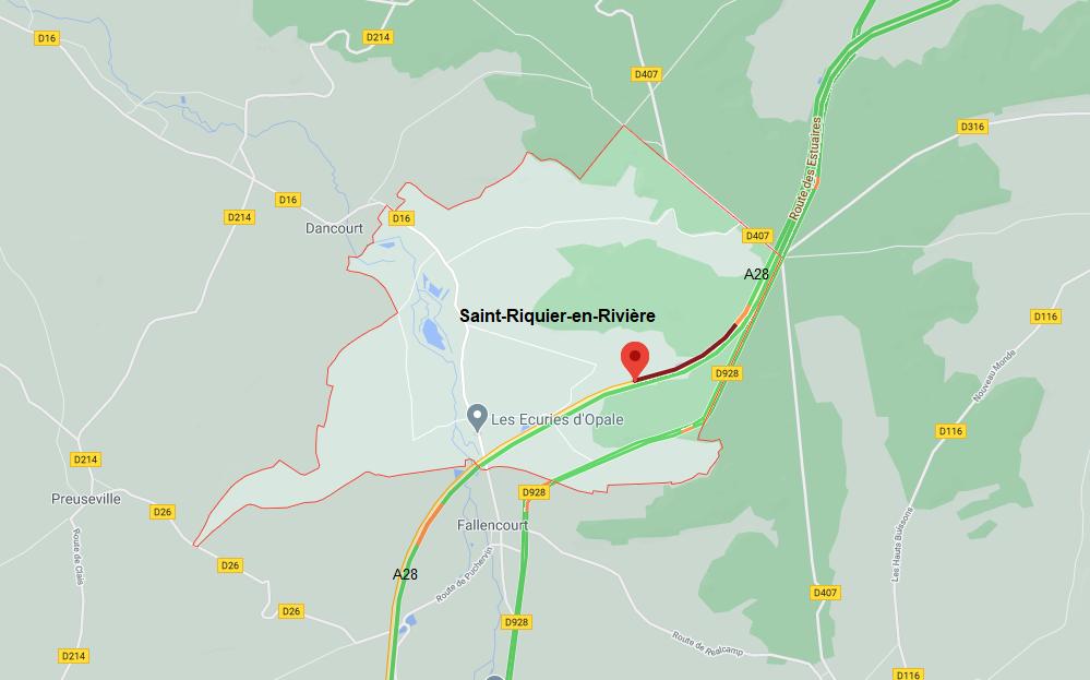 Camion en feu ce soir sur l'A28 : l'autoroute est fermée dans les deux sens en Seine-Maritime