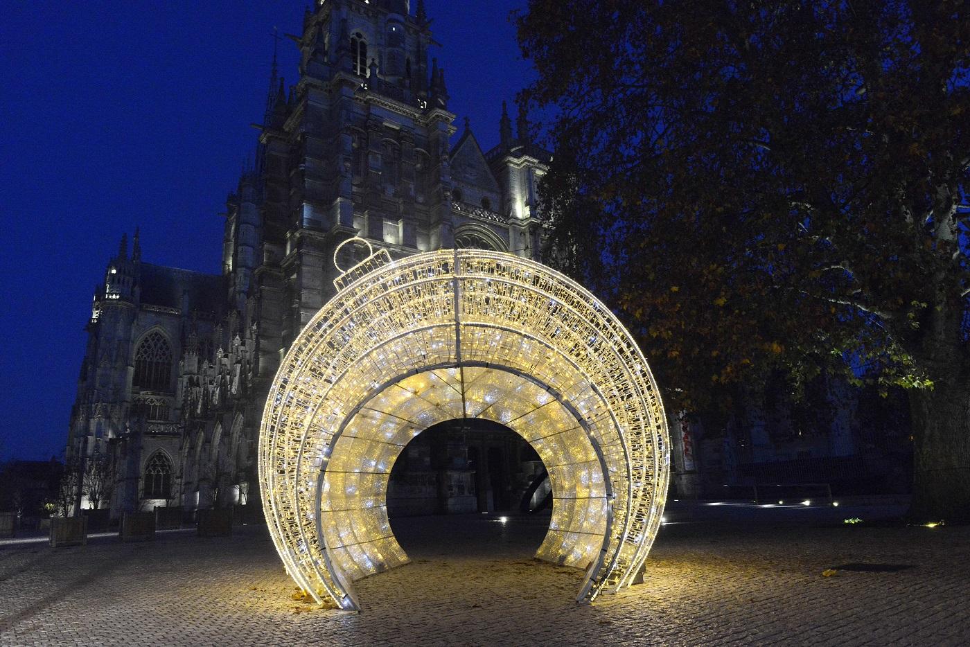 Fêtes de fin d'année à Évreux : un centre-ville féérique pour faire oublier la crise sanitaire