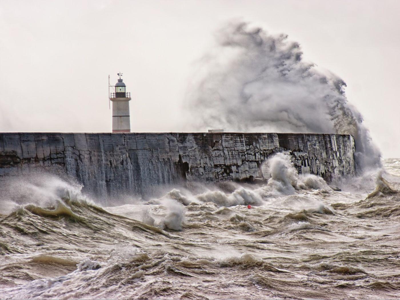 De fortes rafales de vent sont attendues sur le littoral - Illustration