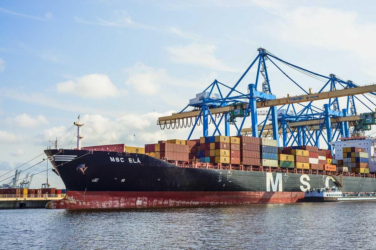 Son déplacement mettra en avant les transformations du Grand port maritime, premier port de containers français - Illustration © iStock