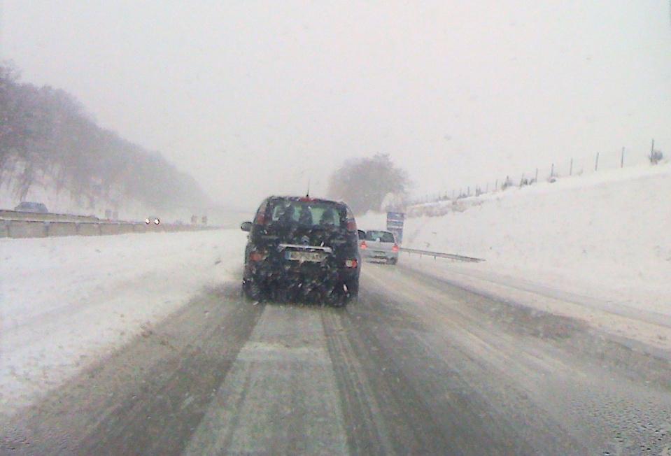 Des risques de verglas sont annoncés, prudence donc pour ceux qui prennent la route ce samedi matin - illustration