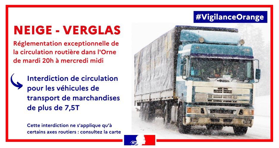 Neige dans l'Eure : le préfet interdit la circulation des transports scolaires le mercredi 10 février
