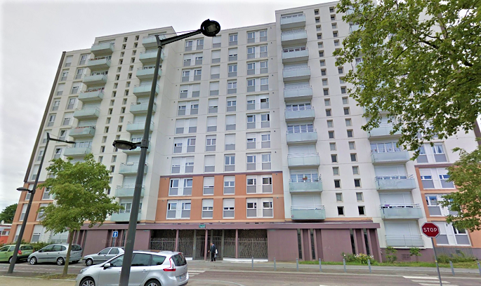 C'est dans cet immeuble de dix étages, le Capricorne, rue Galilée, que le point de deal a été démantelé - Illustration
