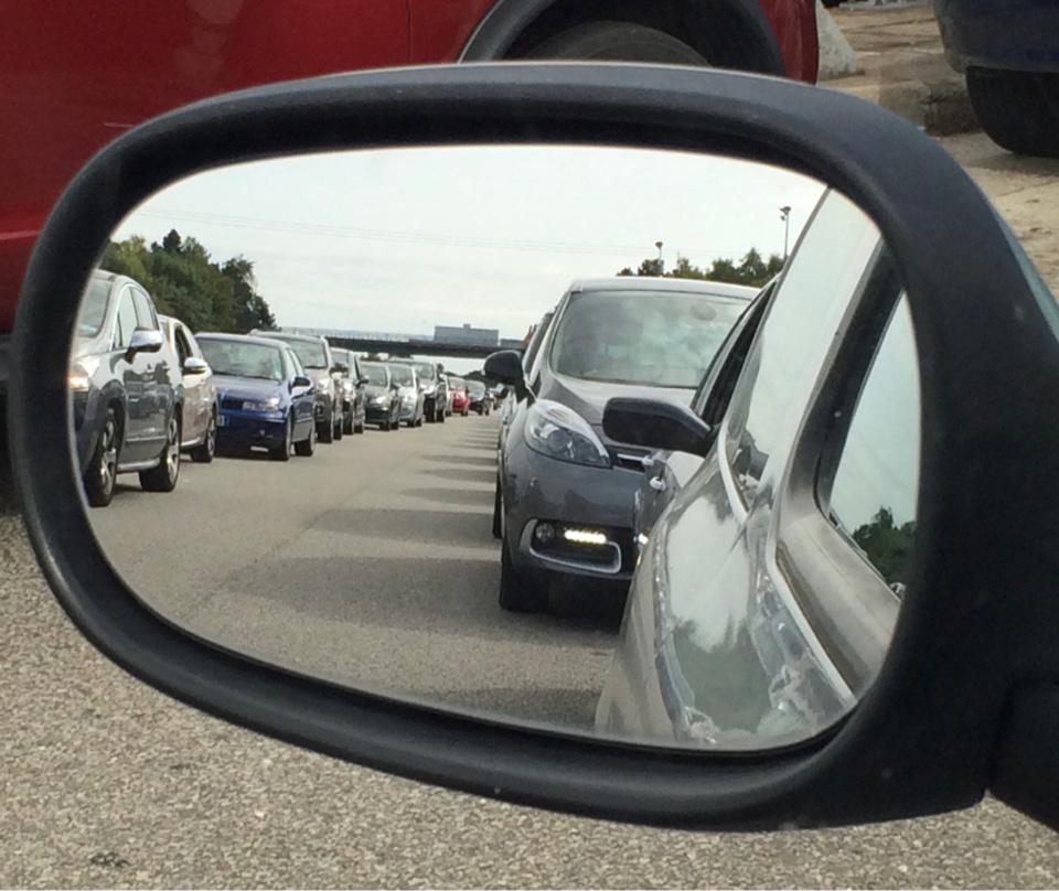 Un ralentissement de 24 km a été observé vers 17h30 d'Orgeval a Mantes-la-Ville  - illustration @ infoNormandie