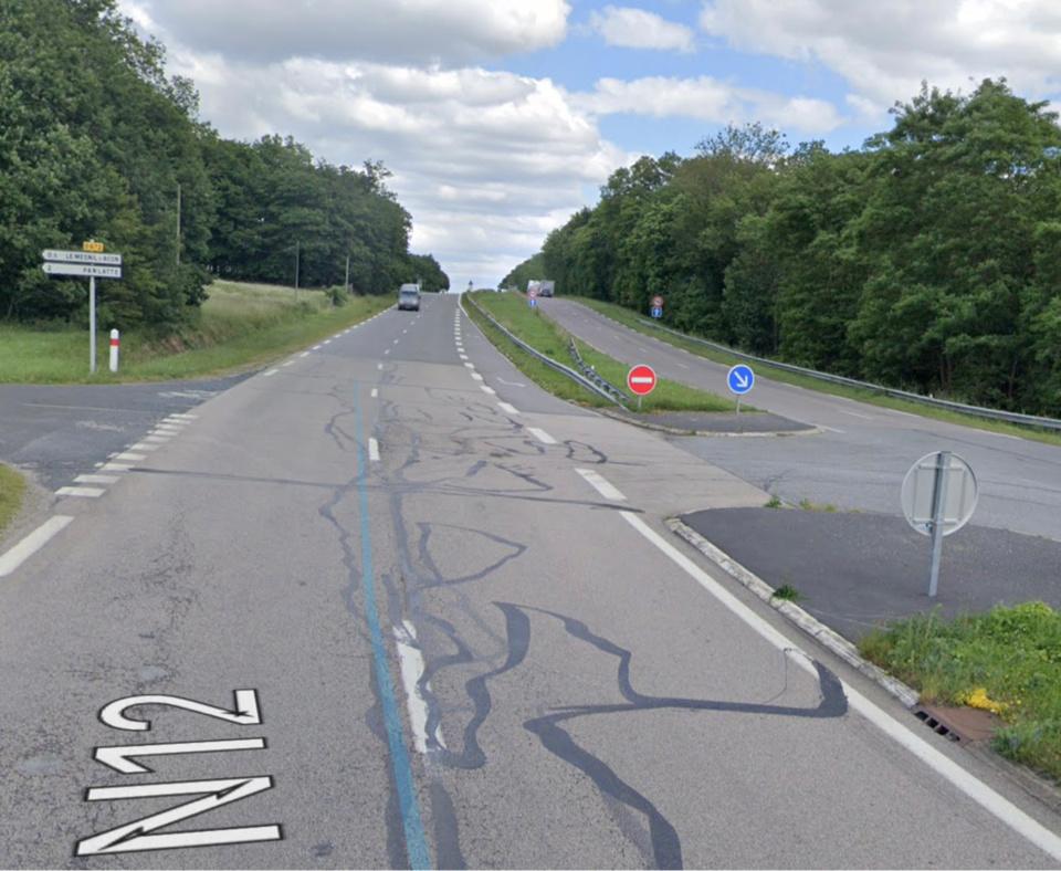 Les travaux de remise en état des chaussées vont durer quinze jours - Illustration @ Google Maps