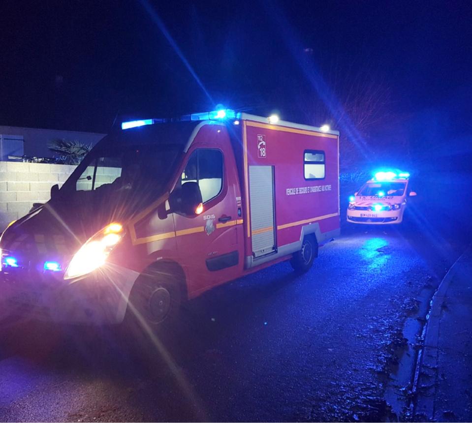 33 sapeurs-pompiers et le SMUR de Bernay ont pris en charge les six personnes impliquées - Illustration