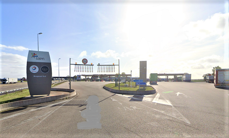 L'aire de repos sud de Bosgouet sur l'autoroute A13
