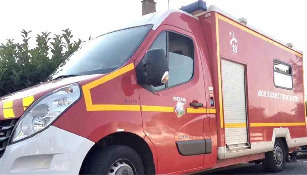 Une dizaine de sapeurs-pompiers sont intervenus sur les lieux de l'accident - illustration
