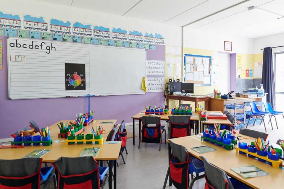 L'école a été fermée ce vendredi soir et ne rouvrira pas avant le lundi 5 avril au matin - Illustration @ iStock