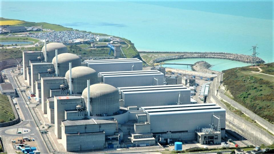 La centrale de Paluel, située sur le littoral de Seine-Maritime, compte quatre réacteurs - Illustration @ EDF