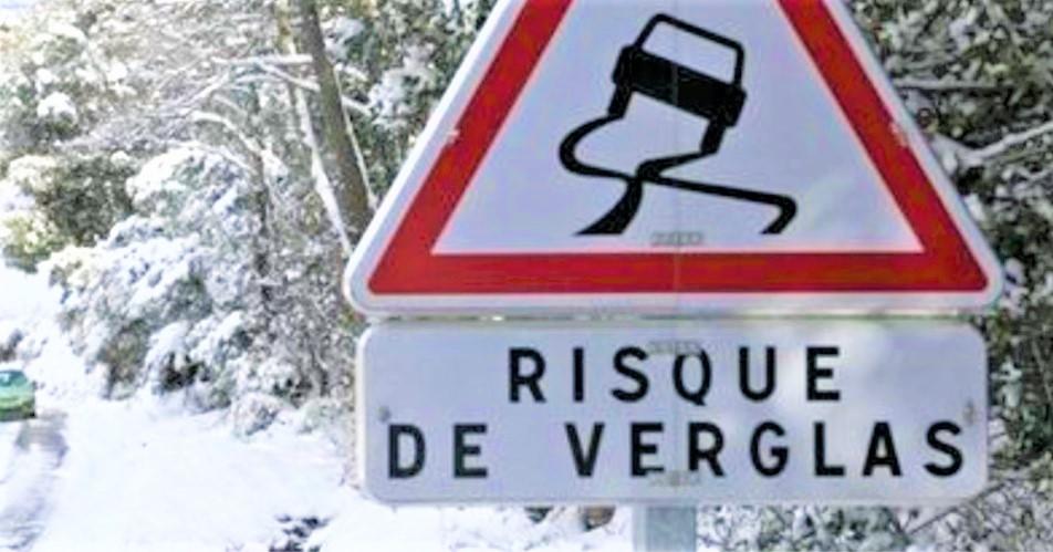 La Seine-Maritime en vigilance jaune pour un risque de neige et verglas aujourd'hui mardi